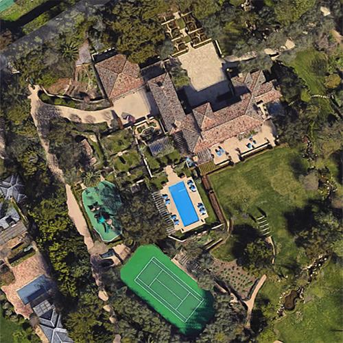 prince harry and meghan markle s house in montecito ca google maps 2 prince harry and meghan markle s house