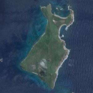 $100,000,000 island (Ronde Island) (Google Maps)