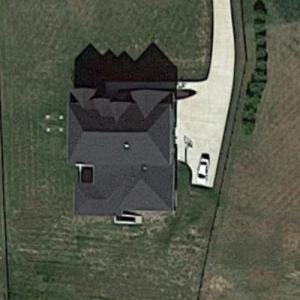 Kane Brown's House (Google Maps)