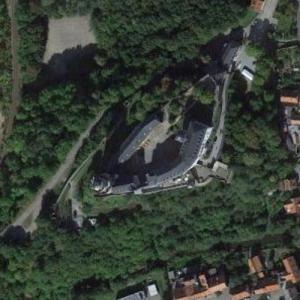 Osterburg (Weida) (Google Maps)
