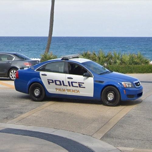 Palm Beach Police Car In Palm Beach, FL (Google Maps