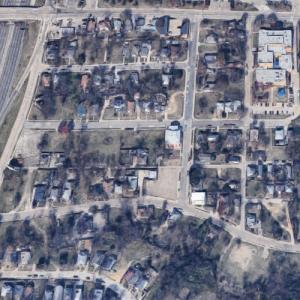 Tenth Street Freedman's Town (Google Maps)