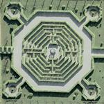 Labyrinth in Hannover (Google Maps)