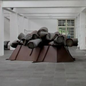 'Colossal Ashtray' by Claes Oldenburg (StreetView)