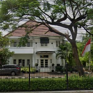 Embassy of Thailand, Jakarta (StreetView)