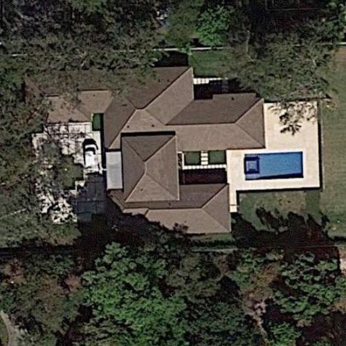 masai ujiri's house in pinecrest, fl (google maps)