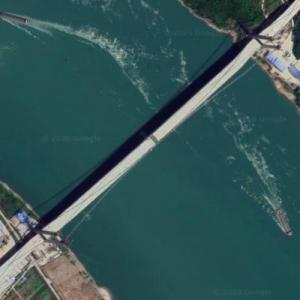 Baiyang Yangtse River Bridge (Google Maps)
