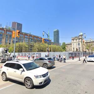 St. Lawrence Market North under construction (StreetView)