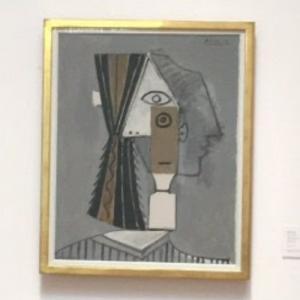 'Tête de femme' by Pablo Picasso (StreetView)