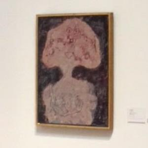 'Carnation sanguine' by Jean Dubuffet (StreetView)