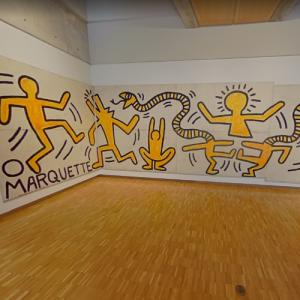 'Construction Fence' by Keith Haring (StreetView)