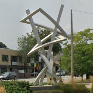 'Uptown Triangles' by John Adduci (StreetView)