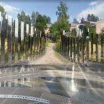 'The Path to Silence' by Jeppe Hein