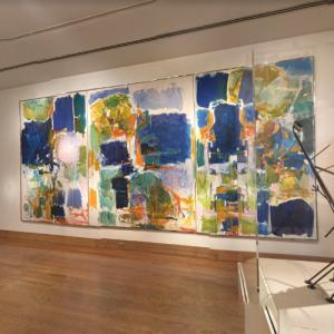 'Bonjour Julie' by Joan Mitchell (StreetView)