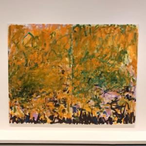 'Two Sunflowers' by Joan Mitchell (StreetView)