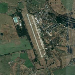 Machulishchy air base (Google Maps)