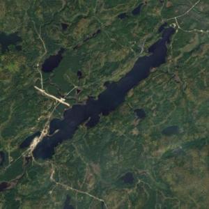 Lac des Outaouais (Google Maps)