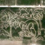 Cinderella 2005 maze (Google Maps)