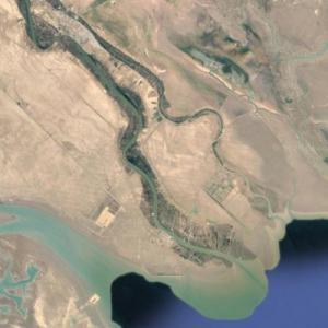 Mouth of the Shatt al-Arab (Google Maps)