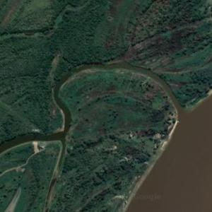 Mouth of the Pilcomayo River (Google Maps)