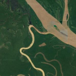 Mouth of the Juruá River (Google Maps)