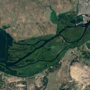 Dnieper Delta (Google Maps)