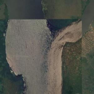 Mouth of the Kasai River (Google Maps)