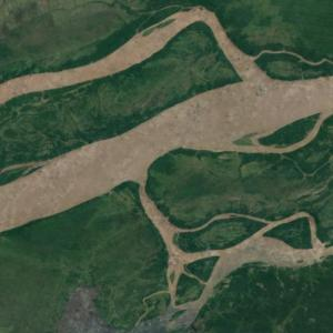 Mouth of the Xingu River (Google Maps)