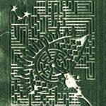 Eye maze (Google Maps)