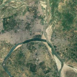 Triveni Sangam (Google Maps)