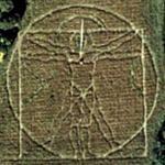 Da Vinci maze (Google Maps)