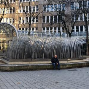 'Antes-Brunnen' by Horst Antes (StreetView)