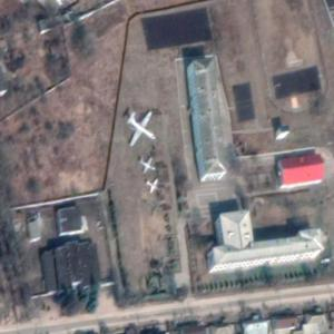 Dyatkovo aircraft static display (Google Maps)