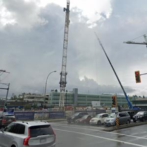 752 Marine Drive Tower under construction (StreetView)