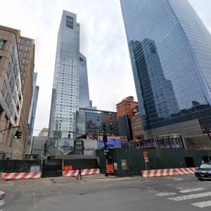 Two Manhattan West under construction (StreetView)