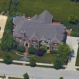 Justin Snow's house (Google Maps)
