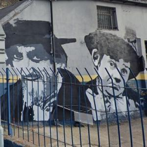 Artful Dodger and Fagin from Oliver Twist (StreetView)