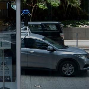 Street View car in Hong Kong (StreetView)