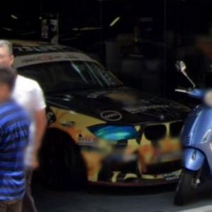Blue eyes BMW (StreetView)