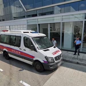Hong Kong police car (StreetView)