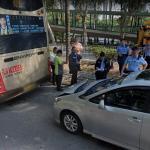 Bus & Car accident