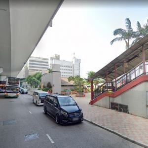 Bus Slams into Footbridge (StreetView)