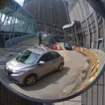 Google Street View Car Reflection - Hong Kong