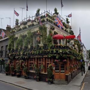 The Churchill Arms pub (StreetView)