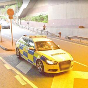 Traffic Branch police car (StreetView)