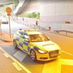 Traffic Branch police car