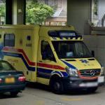 Yellow Ambulance A498