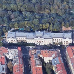 Academy of Fine Arts, Prague (Google Maps)