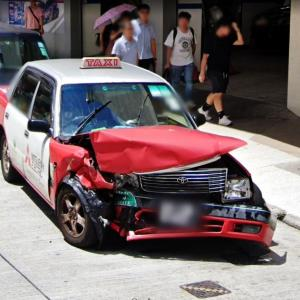 damaged TAXI (StreetView)