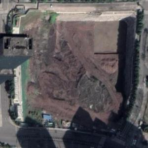 SUNAC A-ONE Towers under construction (Google Maps)